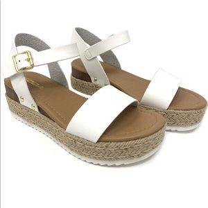 Soda Shoes - Soda espadrille platform sandals
